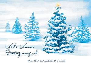 Vianočný pozdrav 109VP