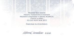 Vianočný pozdrav 119VP