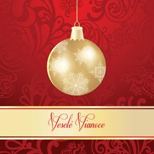 Vianočný pozdrav 124VP
