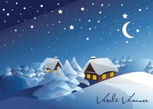 Vianočný pozdrav 133VP