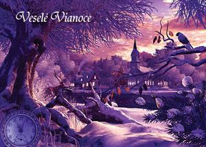 Vianočný pozdrav 140VP