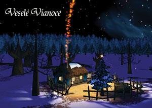 Vianočný pozdrav 141VP