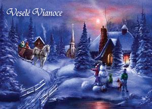 Vianočný pozdrav 142VP