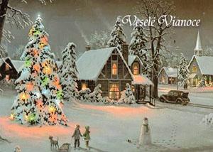 Vianočný pozdrav 143VP