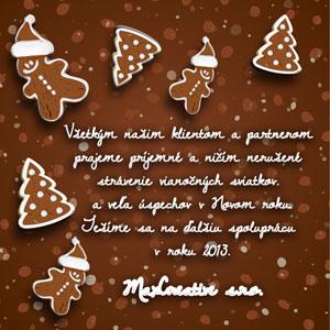 Vianočný pozdrav 48VP