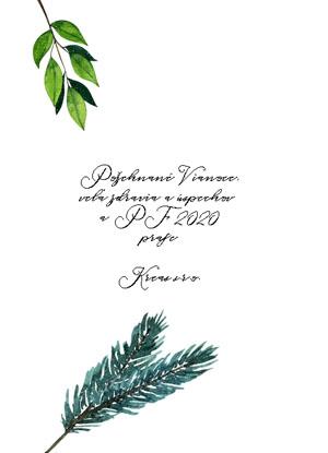 Vianočný pozdrav 94VP